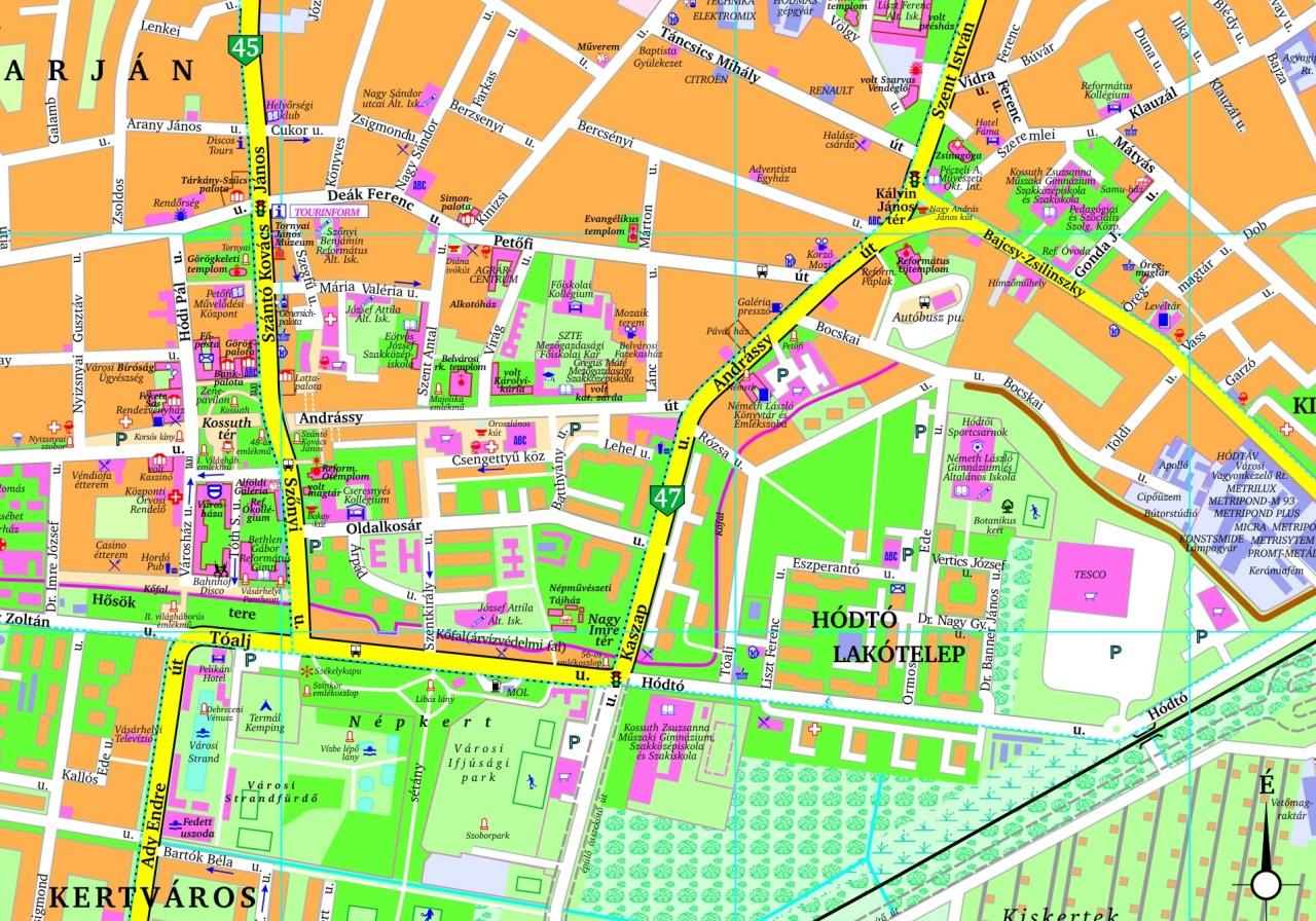 vásárhely térkép Hodmezovasarhely Direct Connection: April 2011