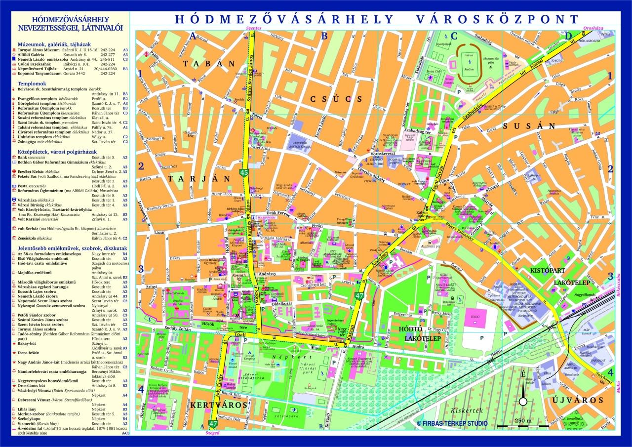 hódmezővásárhely térkép Firbás térkép Stúdió hivatalos website – Térképminták hódmezővásárhely térkép