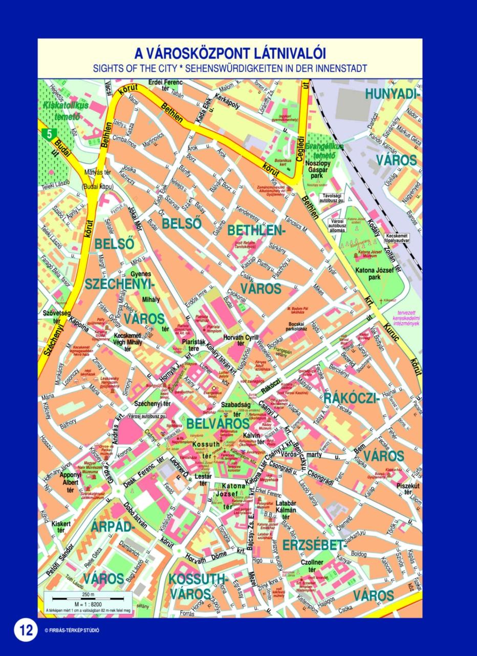 debrecen látnivalók térkép Firbás térkép Stúdió hivatalos website – Térképminták debrecen látnivalók térkép