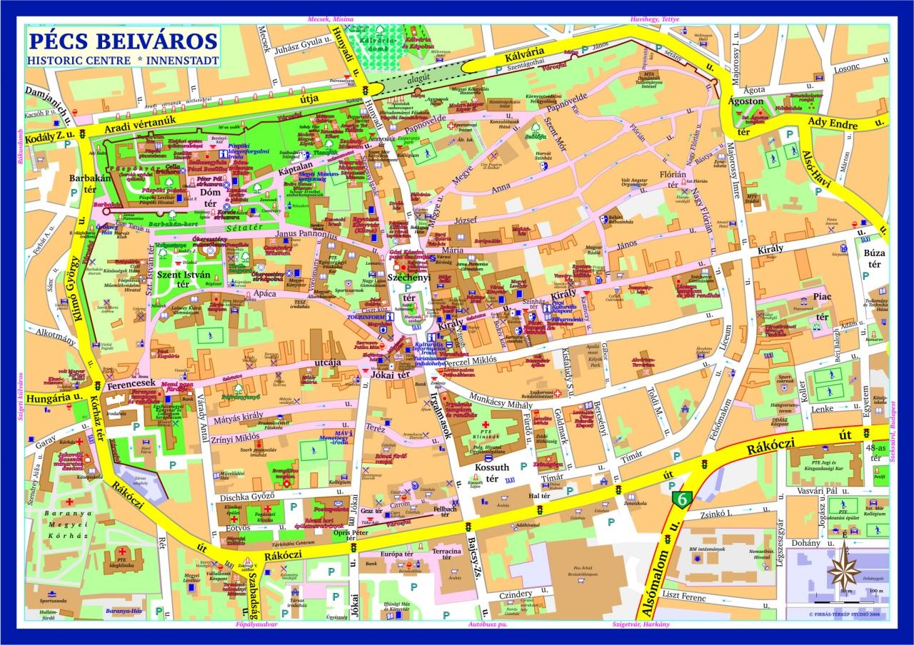 pécs térkép Firbás térkép Stúdió hivatalos website – Térképminták pécs térkép