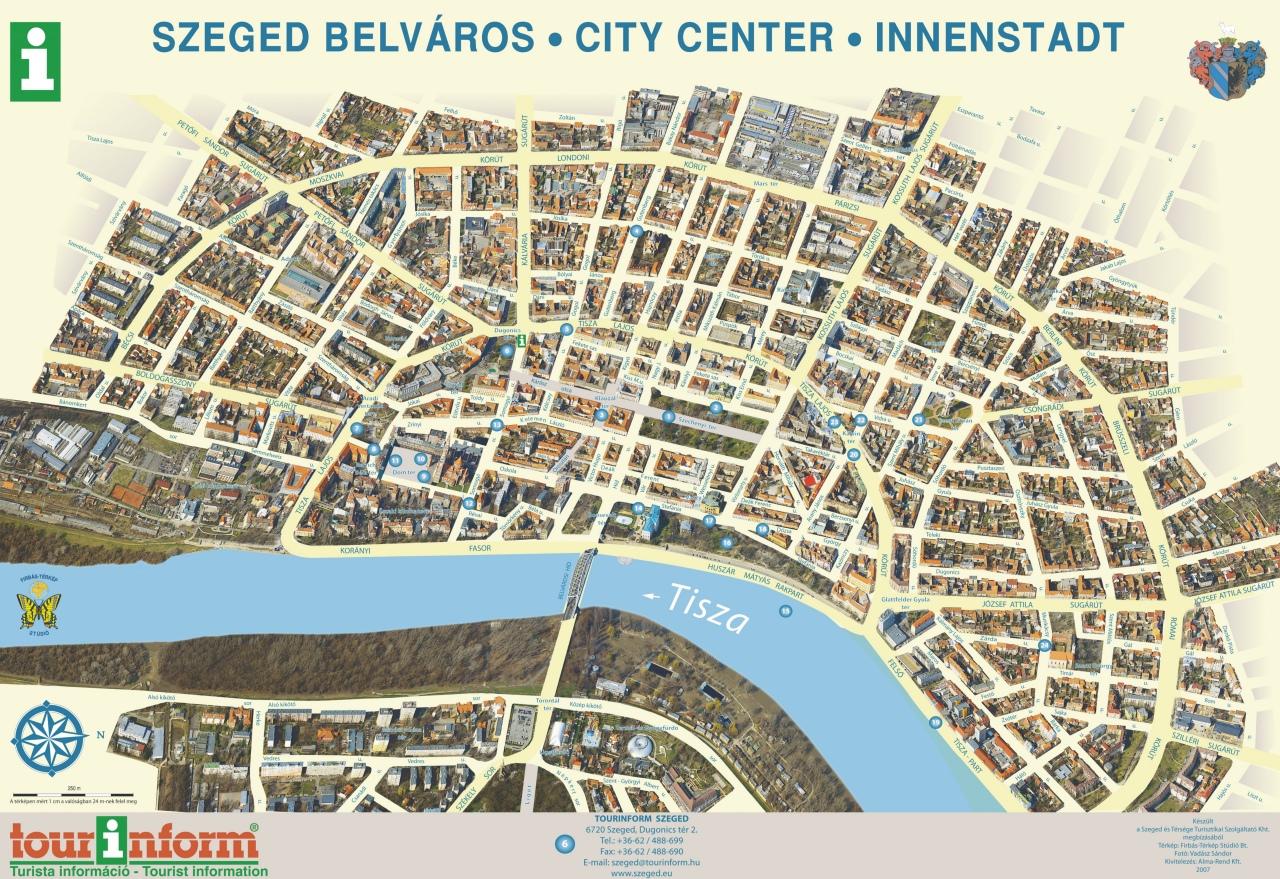 szeged látnivalók térkép Firbás térkép Stúdió hivatalos website – Térképminták szeged látnivalók térkép