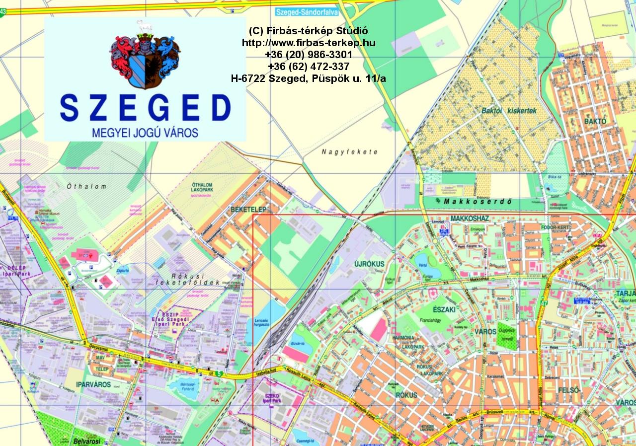 térkép szeged Firbás térkép Stúdió hivatalos website – Térképminták térkép szeged