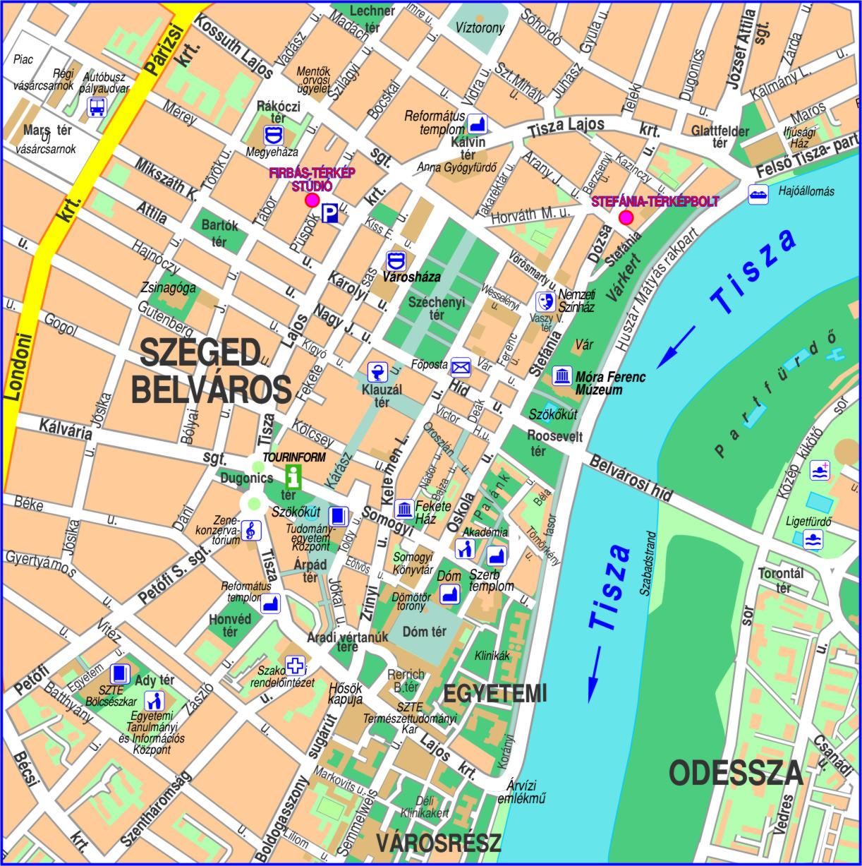 térkép szeged Firbás térkép Stúdió hivatalos website – Elérhetőség térkép szeged